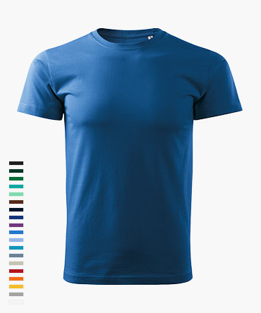Koszulka męska BASIC - kolorowa