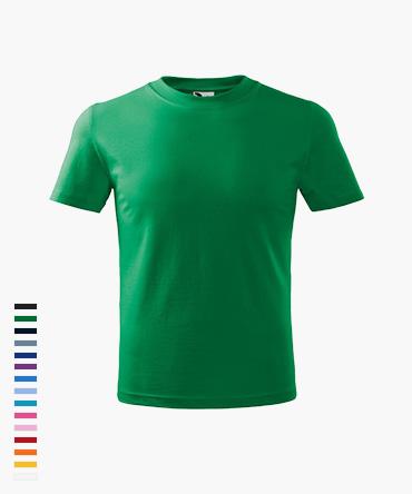 Koszulka dziecięca BASIC - kolorowa (Malfini 160)