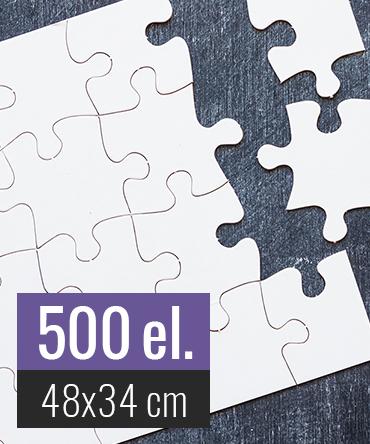 Puzzle tekturowe 500 elementów