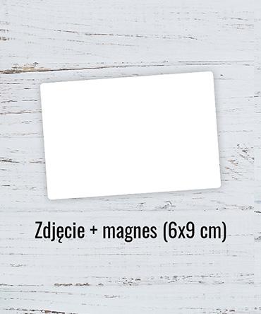 Fotomagnes prostokąt 9x6 cm
