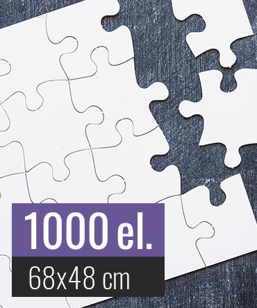Puzzle tekturowe 1000 elementów